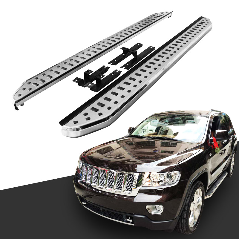 Aluminum Running Board Side Step Nerf Bar for 2011-2018 Jeep Grand Cherokee