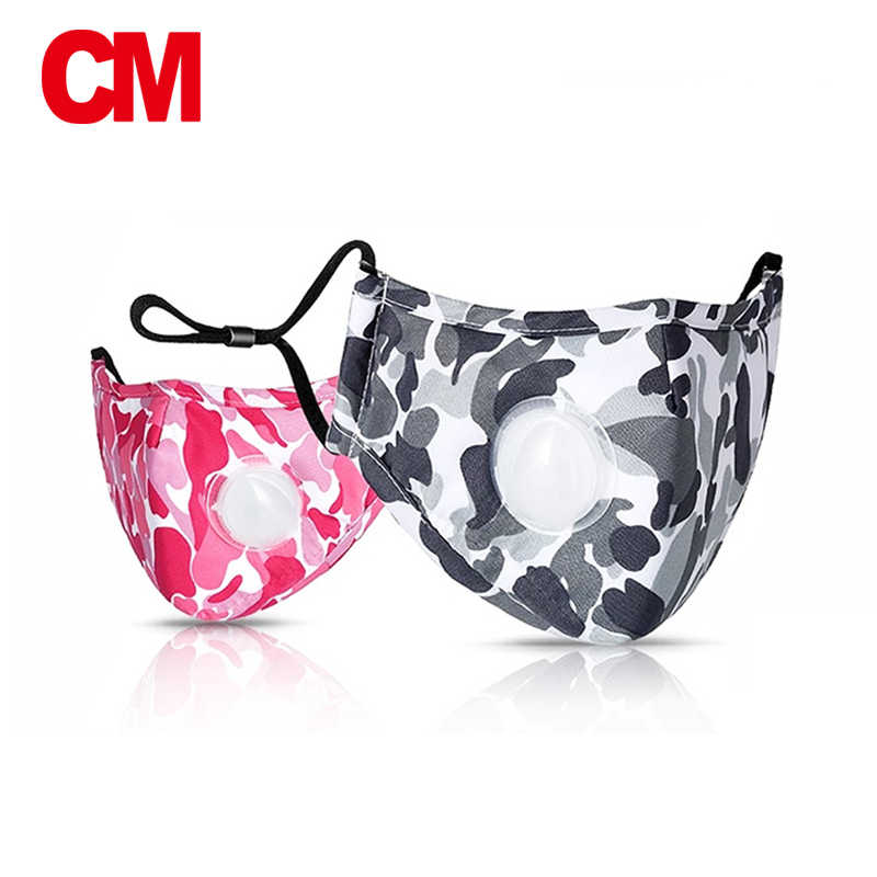 11c00c60ae6 CM Unisex Soft Face Cotton Mouth Mask PM2.5 Filter Anti-Dust Mask Air