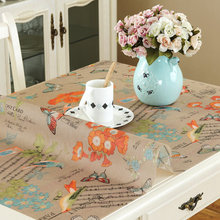 PVC table cloth Waterproof anti-hot soft glass plastic tablecloths Table mat Oil-proof coffee table pad Matte crystal plate mat europe luxury party tablecloth non slip waterproof table cloth oil proof pvc soft glass plastic table cover coffee table mat