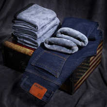 Autumn Winter Jeans Warm Flocking Warm Soft New Men Activities More Thicken Warm Jeans Men Jeans Fit For-15