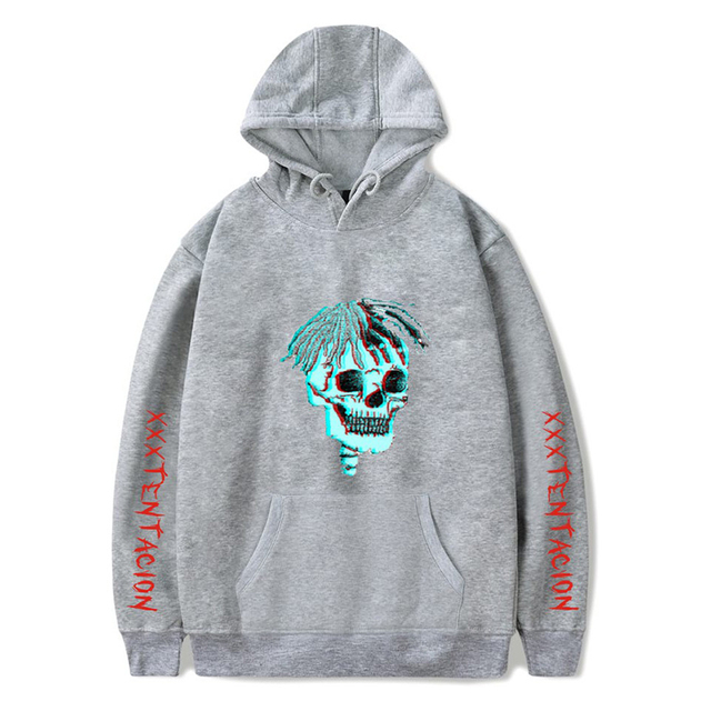 revenge kill hoodies hot rapper skull print xxxtentacion hoodie hip hop men women hoody hooded sweatshirt plus size streetwear