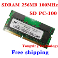 Lifetime warranty For Micron SDRAM 256MB 512MB 100MHz PC-100 SD 256M notebook memory Laptop RAM Original 144PIN SODIMM