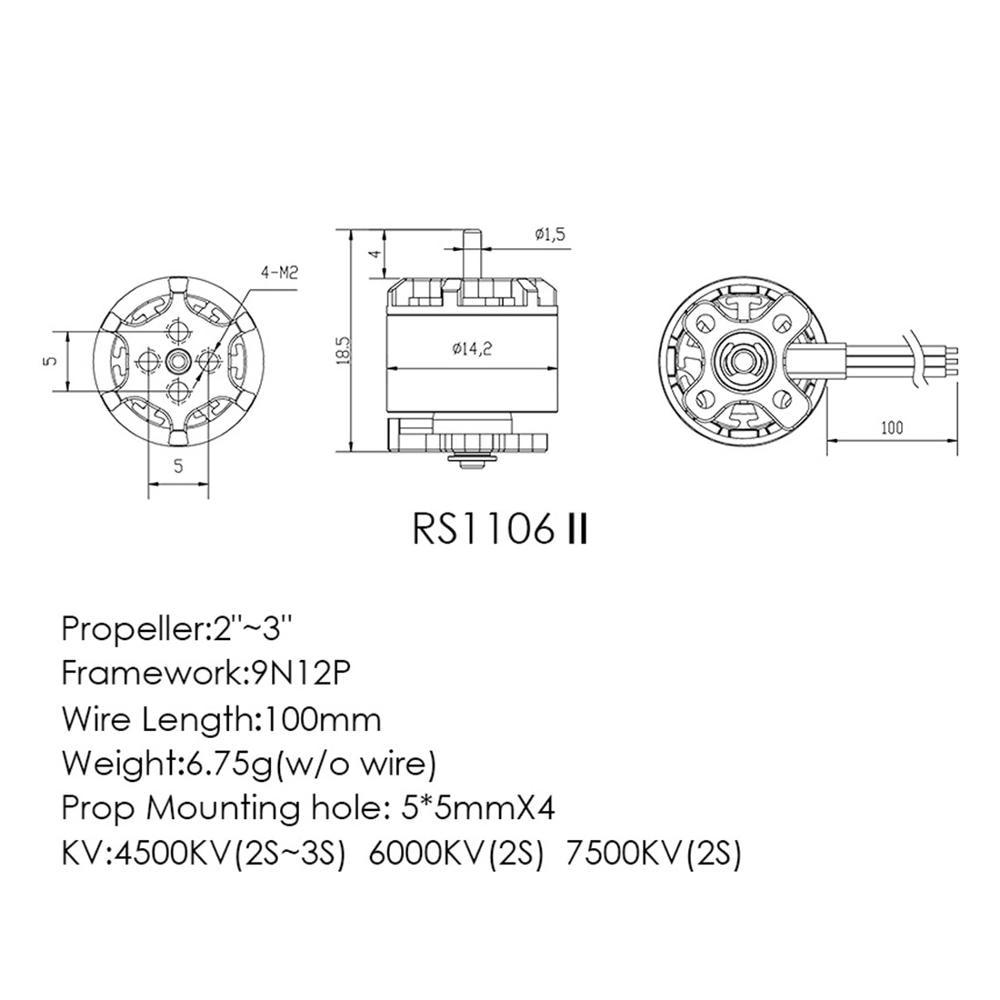 TSSC401V2//4 Tenshock SC401V2 4,0 1//10 Short Course Motor 4400kV Brushless