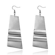 Metal Fashion Dangle Earrings For Women Geometric Earring Vintage Punk Jewelry