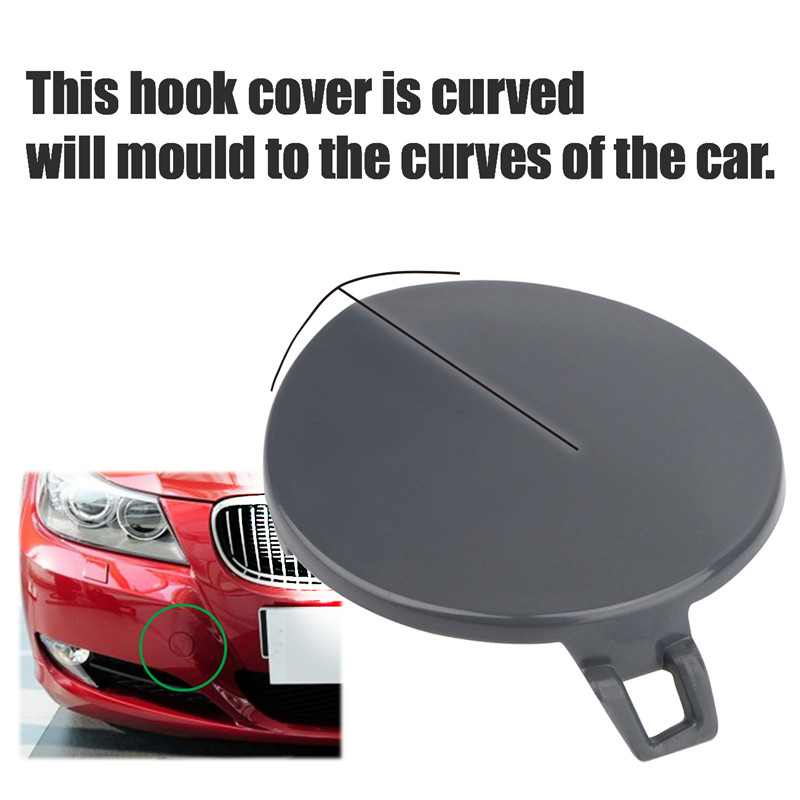 Front Bumper Tow Hook Cover For Bmw E90 E91 328i 335d 335i