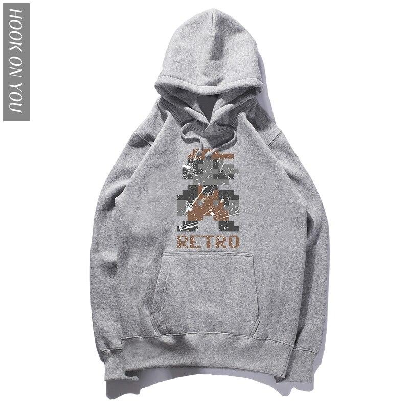 2018 Men Hoodies Super Mario RETRO Fashion Hoodie Hipster Printed Hoody Long Sleeve Tops super mario Sweatshirts