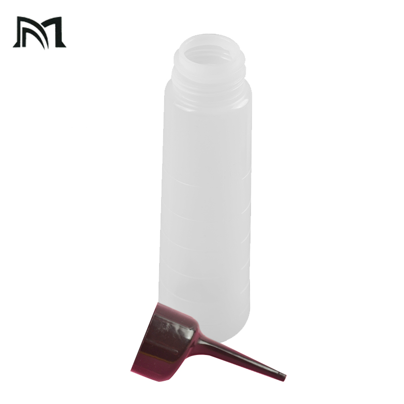 250ml Applicator Bottles Hair dye container Hair Salon Washing Squeeze Refillable Shampoo Bottle Hairdressing Cleaning Tool A16