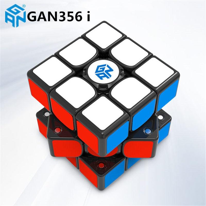 GAN356 i Cube de vitesse magique magnétique GAN356i aimants de Station en ligne Cubes de compétition GAN 356 i - 3