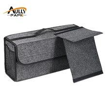 Автомобиль фетровая коробка для хранения багажник сумка автомобиля ящик для инструментов Мульти-Применение Инструменты Органайзер сумка ковер складные автомобили интерьерные аксессуары