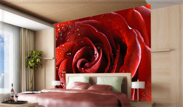 3D Wall Painting 3d wall panel 1 square meter wall painting glitter wallpaper