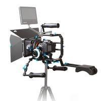Fotga DP Series DIY 15mm Standard Rig Set Movie Kit Film Making System Follow Focus Matte