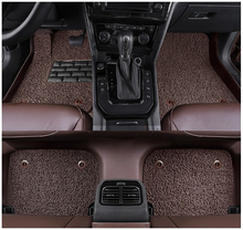 Car Floor Mats For Toyota LAND CRUISER PRADO 120 2003-2009 Foot Carpets Mat High Quality Water Proof leather Wire coil 2 Layer