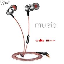 Original KZ X8 Earphone Balanced Ear Earbud Earphones Bass Music Earphones Headset For iphone 6 s Samsung xiaomi PC for mp3 mp4