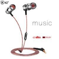 Original QKZ X8 Earphone Balanced Ear Earbud Earphones Bass Music Earphones Headset For Iphone 6 S