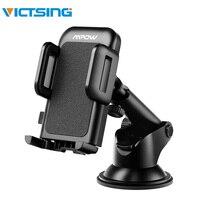 VicTsing Auto Telefoon Mount One-Touch Ontwerp Dashboard Auto Telefoon Houder voor iPhone X/8/8 Plus /7/6 voor Galaxy 4.6-6.6 inch