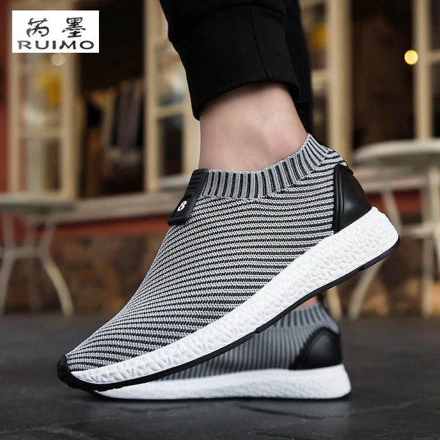 15c8dfb6a70f Sports Shoes Flat Ventilate Shoes Male Net Men Shoes Breathable All Match  Trend Of Korean Shoes Sneaker Walking Travel