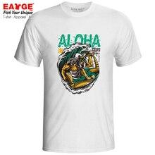 Zeus Greet Aloha When Surfing Hawaii T Shirt Funny Greek God Cool Creative Anime T-shirt Print Fashion Men Women Tee