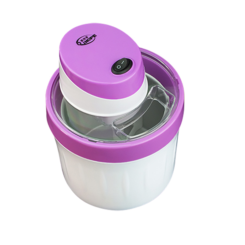 Household Small-sized Fully Automatic Self-control Fruits Ice Cream Machine Self-control Ice Cream Children Self-control Cone 1