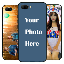Honor 10 case Custom Personalized Make your Photo pattern images Hard Body Soft Side Phone Case Cover huaweinova3 case custom personalized make your photo pattern images hard body soft side phone case cover