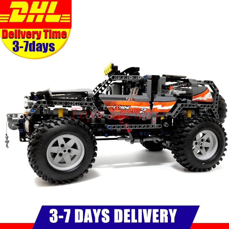 In Stock Lepin 20030 1132Pcs Technic Ultimate Series The Off-Roader Set Children Building Blocks Bricks Toys Model Gifts 8297 1132pcs legoing technic ultimate series the off roader sets children educational building blocks bricks toys for children gifts