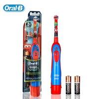 Oral B DB4510K Children Electric Toothbrush Oral Hygiene Deep Clean Pixar Cars Boys Waterproof Battery Toothbrush