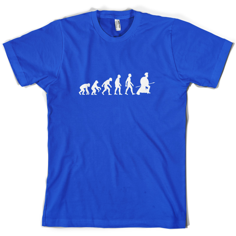 Evolution of Man Spartan Mens Spartacus T Shirt Gladiator 10 Colours Print T Shirt Mens Short Sleeve Hot Tops Tshirt Homme in T Shirts from Men 39 s Clothing