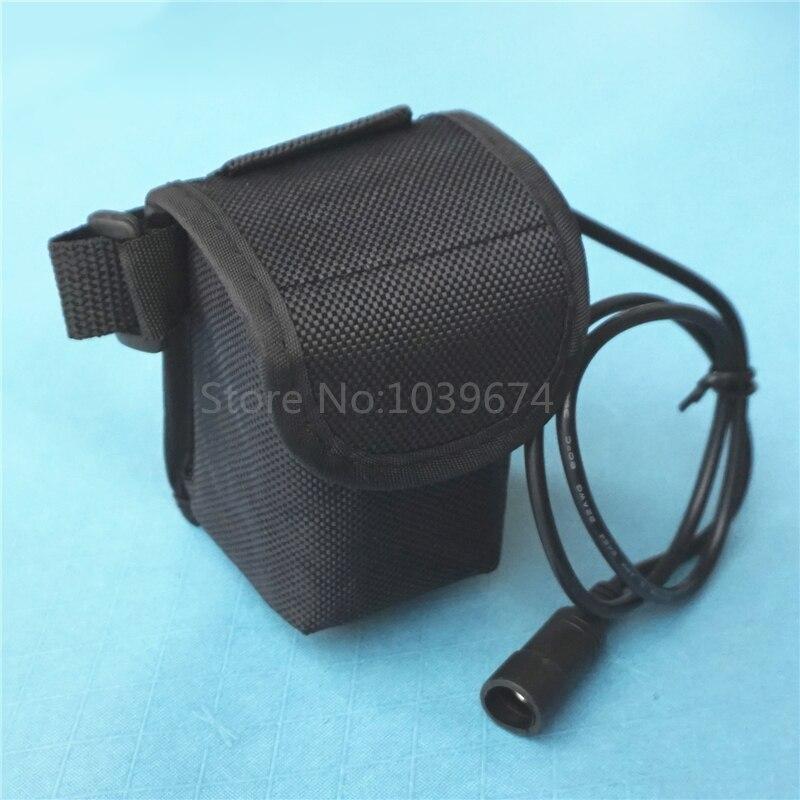 8.4 V 7.4 V 20000 MAH De iões de Lítio 26650*4 Bateria Recarregável Fonte de Alimentação DC5.5 Plugue Saco LIVRE para Lanternas de bicicleta