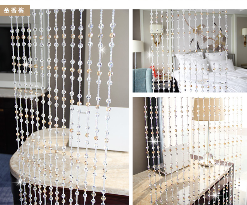 Фото Free shipping!Top quality Customized crystal Glass beads garland strands,DIY Crystal Curtain For Home Decoration(22*1.2m/lot)