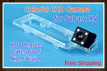 Waterproof Special 4LED CCD Car Rear view camera Reverse Backup Parking Camera for Subaru XV