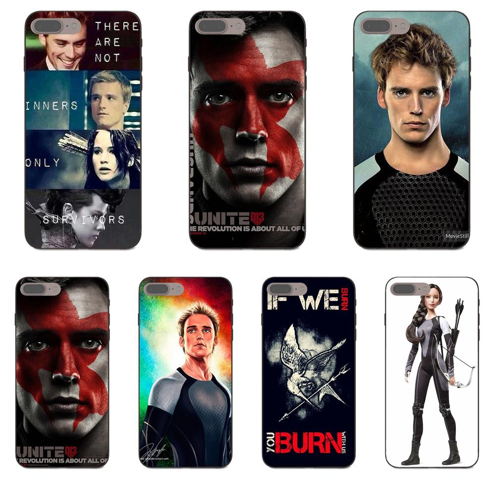 Tpu Capa Cover The Hunger Games Catching Fire Finnick For
