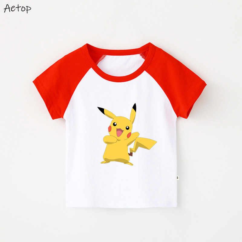 Одежда футболка для мальчиков и девочек из японского аниме футболки с принтом «Crayon Shin-Chan» Белый Топ, детская одежда b300