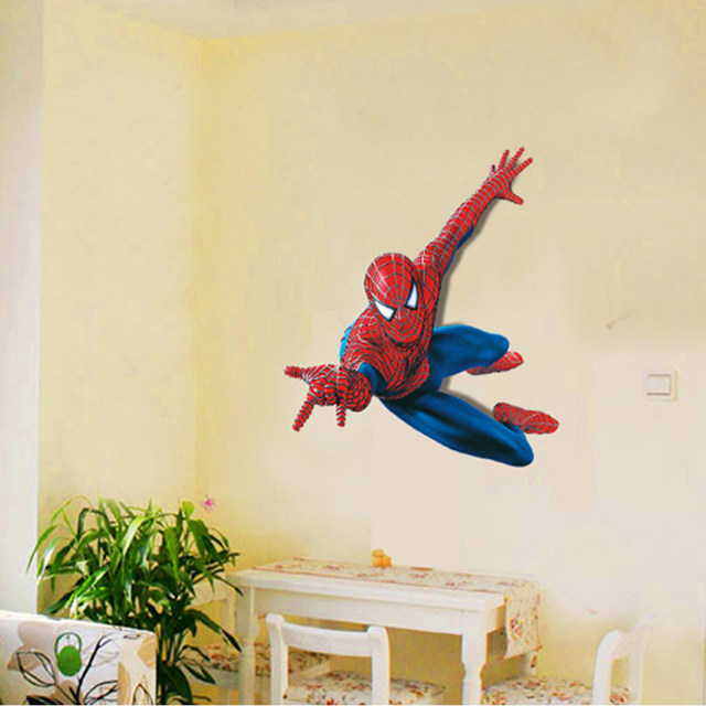 Online Shop 3D Creative Wall Stickers Stereoscopic Painting Cartoon ...