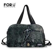 83cc4b4916 FORUDESIGNS Ball Sport Printing Shoulder Bag Double-shoulder Outside Sport  Portable Bucket Bag Basketball Football