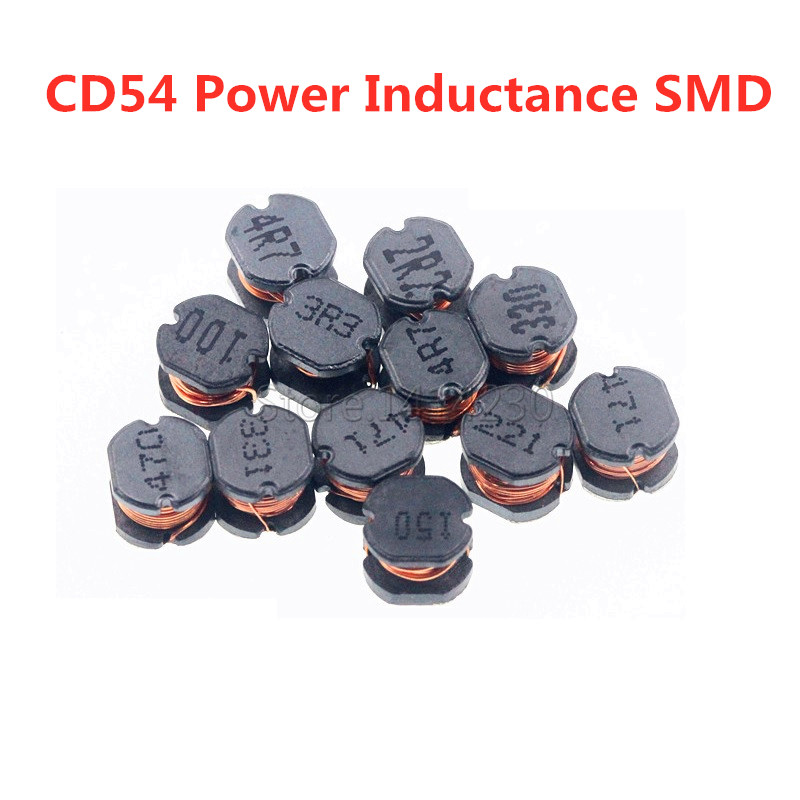 Hot Sales SMD <font><b>Inductor</b></font> CD54 Power Inductance 2.2UH 3.3UH 4.7UH 6.8UH 10UH 15UH 22UH 33UH 47UH 68UH <font><b>100UH</b></font> 150UH 220UH 330UH 470UH image