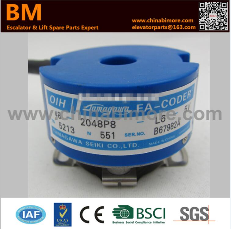 цена на TS5213N551 OIH48-2048P8-L6-5V Replaced by TS5213N530 Elevator Encoder