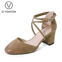 Women Wedge Pump High Heel Sexy Dress Summer Shoes For Adults Female Comfortable Soft Suede All