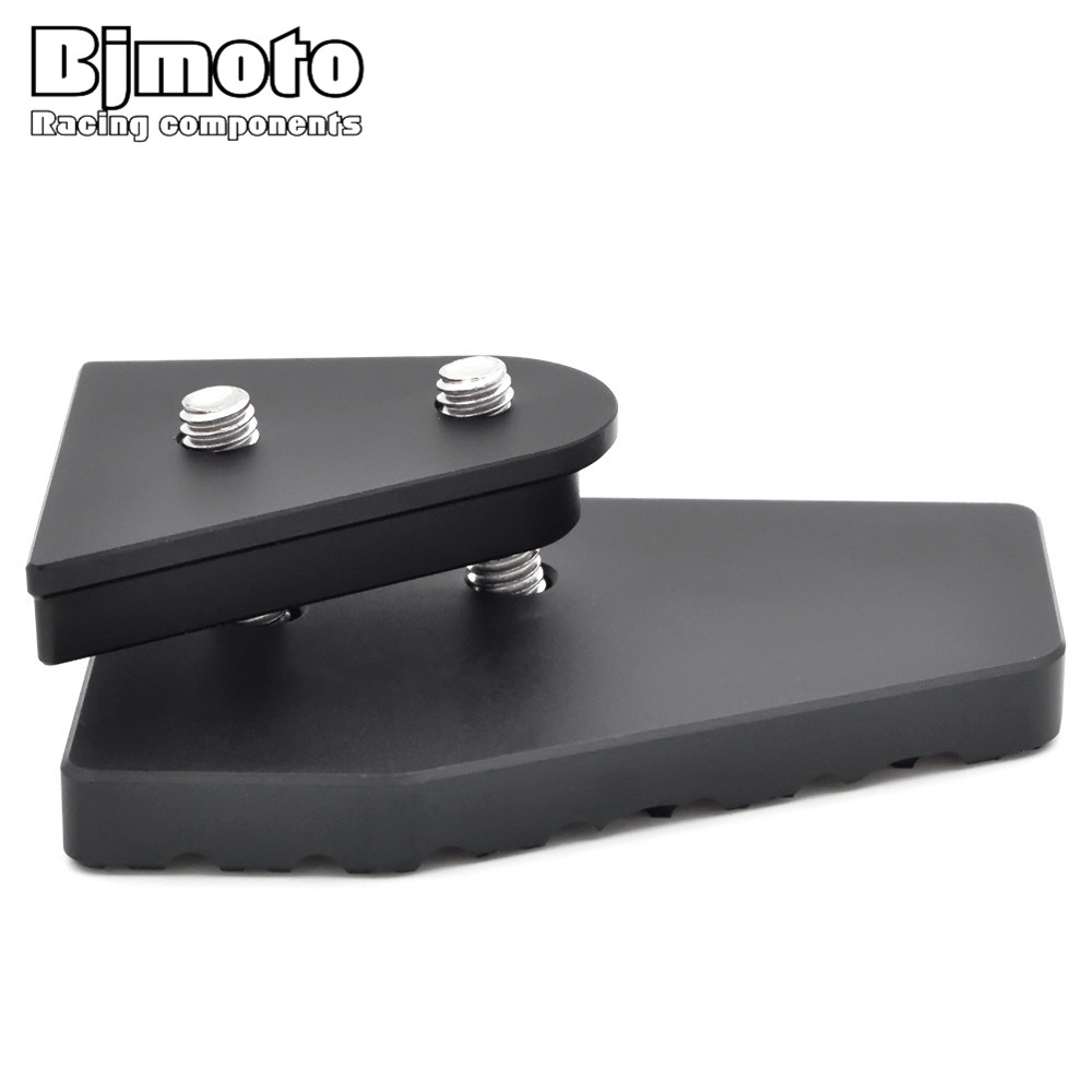 Motorcycle Part Kickstand Sidestand Side Stand Extension Enlarger Plate Pad For BMW F800GS F700GS F650GS стоимость