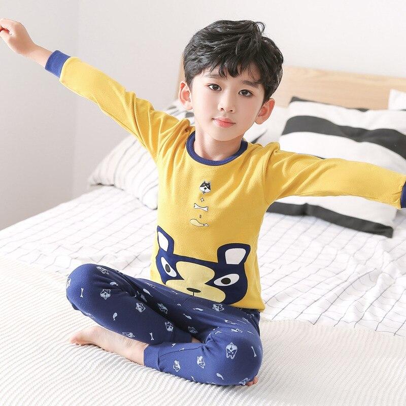 saileroad meninos meninas pijamas conjunto criancas bonito 04