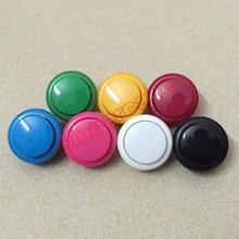 Arcade oyunu üçün 10 ədəd 30 mm Dəyirmi düymə düyməsinə DIY arcade nəzarətçi üçün 7 rəng mövcuddur