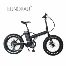 Drop shipping USA CANADA High Speed Fat tire electric bike 20 inch folding electric bicycle