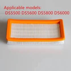 Моющиеся karcher фильтр для DS5500, DS6000, DS5600, DS5800 робот-пылесос Запчасти Karcher 6,414-631,0 НЕРА фильтры