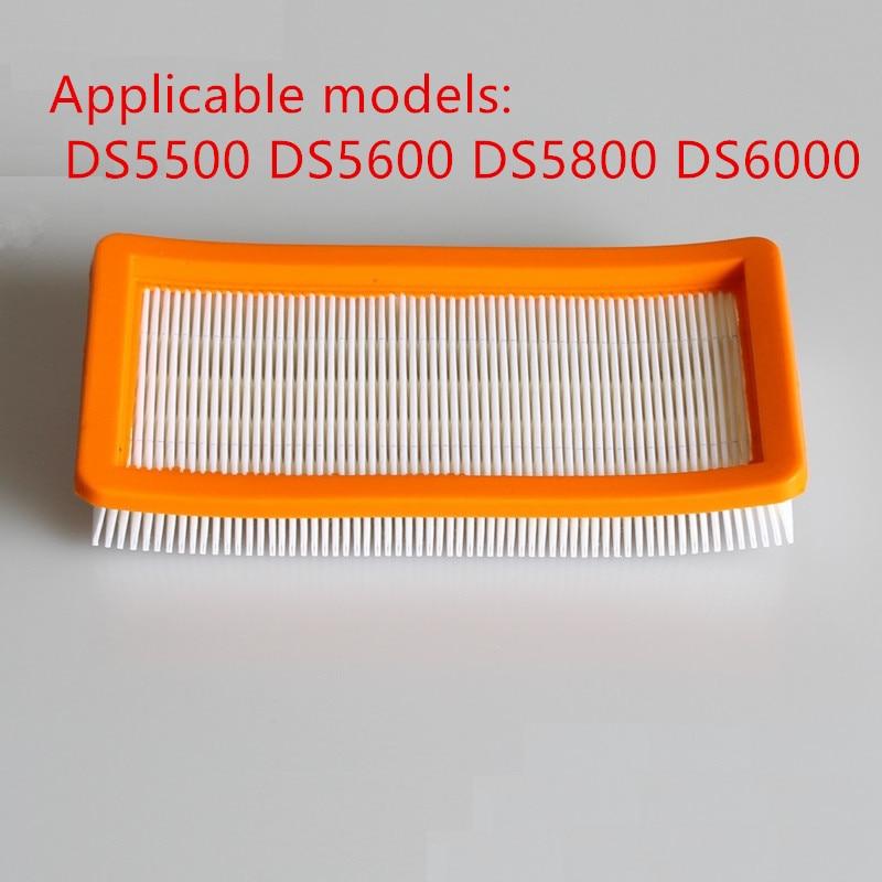 Waschbar karcher filter für DS5500, DS6000, DS5600, DS5800 roboter-staubsauger Teile Karcher 6,414-631,0 hepa filter