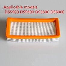 Моющиеся Karcher фильтр для DS5500, DS6000, DS5600, DS5800 робот-пылесос части Karcher 6.414-631.0 НЕРА фильтры