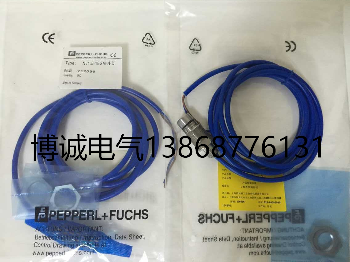 New original P+F NJ1.5-18GM-N-D  Warranty For Two YearNew original P+F NJ1.5-18GM-N-D  Warranty For Two Year