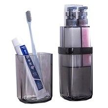 Дорожная чашка для мытья портативные туалетные принадлежности зубная щетка полотенце перегородки коробочки для хранения наборы аксессуаров для ванной комнаты