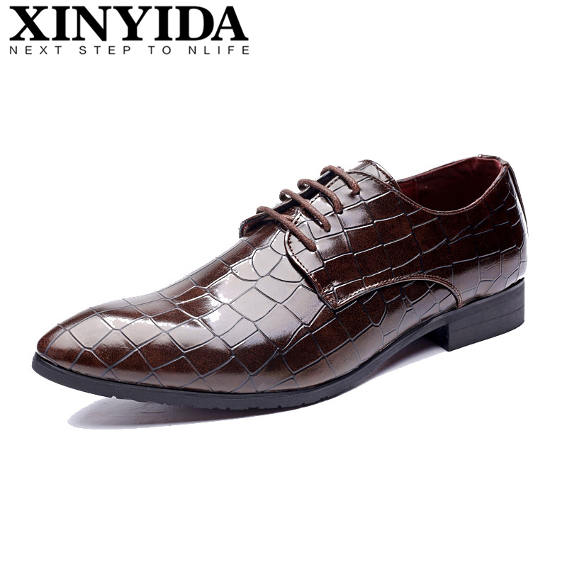 Hot Sale Pointed Toe Men Leather Shoes Lace Up Breathable Casual Business Men Shoes Hot Fashion Men Dress Shoes Plus Size 38-48 hot sale men down parkas 2016 men thick coats casual men fashion outwears windproof men warm thick downs 5xl plus size quality