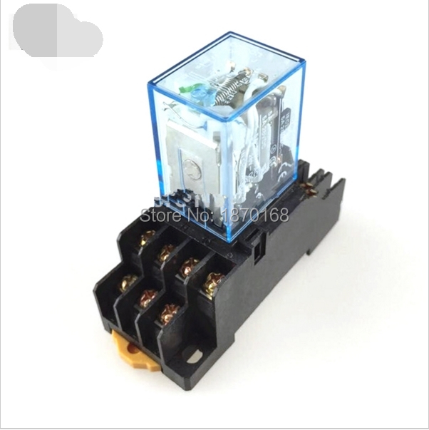 MY3NJ HH53P DC 12V Coil 11 Pin Terminals 3PDT Power Electromagnetic Relay