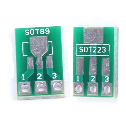 20 шт. / Лот SOT89 SOT223 для DIP платы для передачи печатной платы DIP Pin Board Pitch адаптеры ключей в наличии