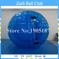 Free Shipping 2.5m PVC Inflatable Human Hamster ball for sale,inflatable zorb ball, Rolling Ball For Grass