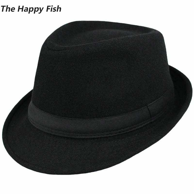 f59b84a626f56 Original Unisex Structured Wool Fedora Hat Fedora hats for men fedora felt  hat head size 58